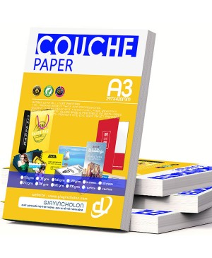 Giấy in Couche A3 260g