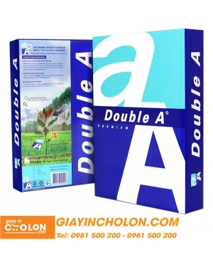 Giấy in văn phòng Double A khổ A4 80gsm