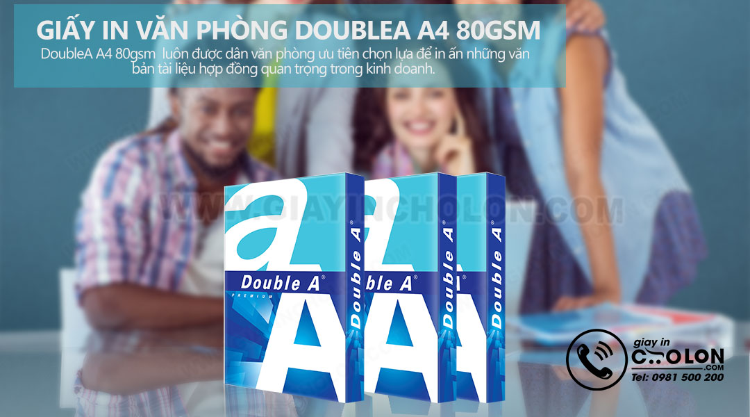 Giấy in double A