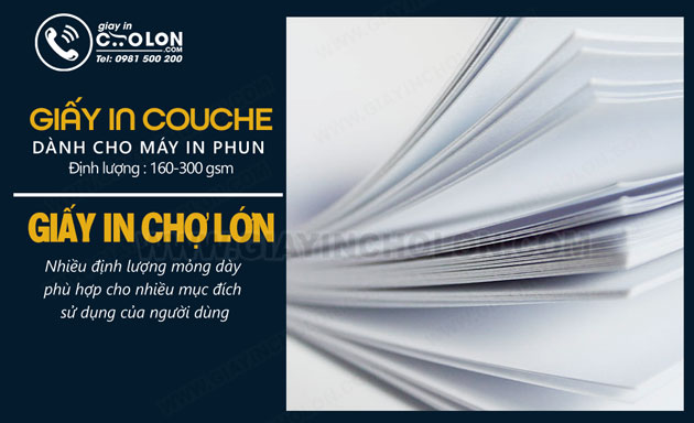 giấy in couche