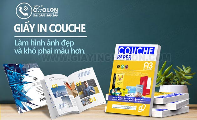 giấy in couche matt
