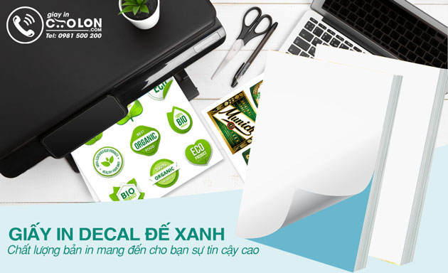 giấy decal in tem