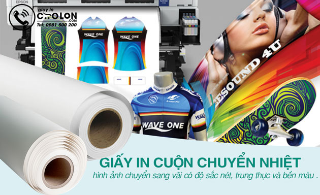 giấy in chuyển nhiệt 3g jet opaque