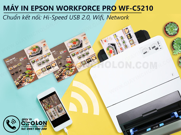 Máy in Epson WorkForce C5210